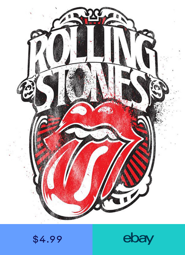 Rolling Stones Iron On Transfer For T Shirt Other Light Color Fabrics 2 Rolling Stones Tattoo Rolling Stones Logo Rolling Stones