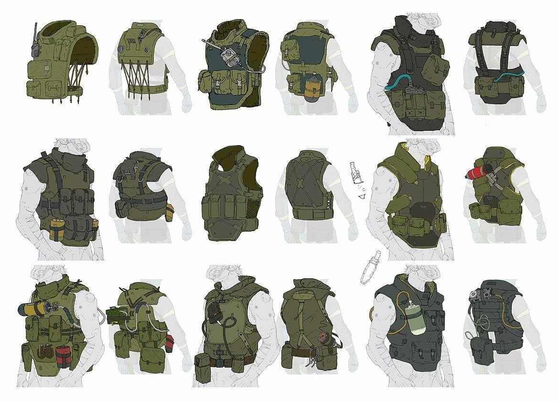 Near Future Troopers image by David Olmstead Metal gear