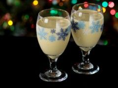 Peppermint Nog Punch