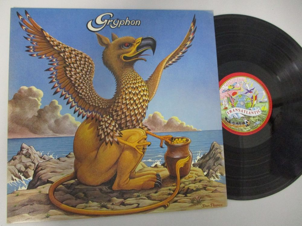 GRYPHON Self Titled LP Original 1973 UK Transatlantic TRA