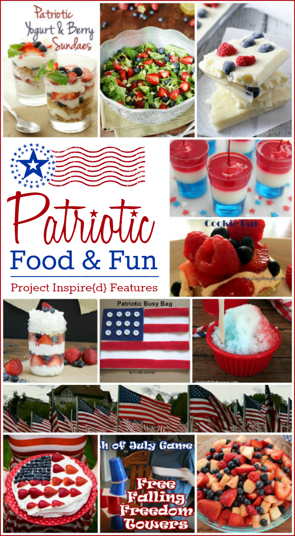 Don't miss this round-up of amazing patriotic food and fun for your Memorial Day festivities.