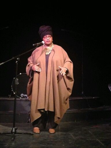 Me - Marsha Music - onstage at Octoberfest, Hastings St. Ballroom. Photo by Emma Lockridge. Oct. 2015.
