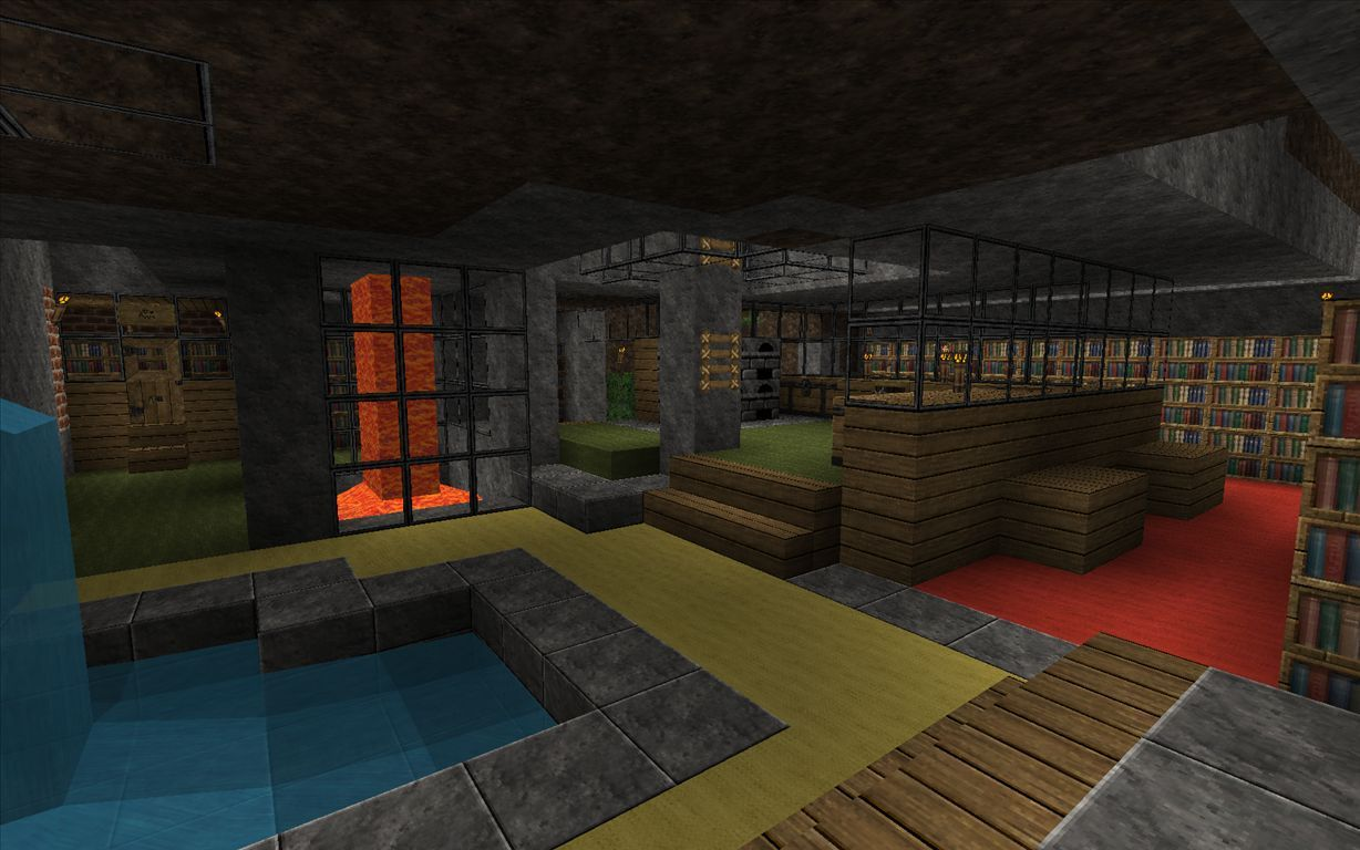 Minecraft house goes underground h ada googlom for Home design xbox
