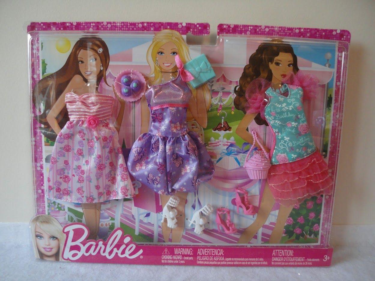 Great Fashionistas Barbie Dress Kit Version 1 Mattel N8322-X7854-NEW