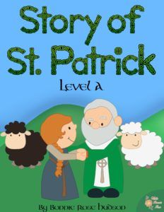 Story of St. Patrick Coloring Book Levels A-C! Introduce your students to the story and ministry of this brave man with these coloring books. Limited time freebies.