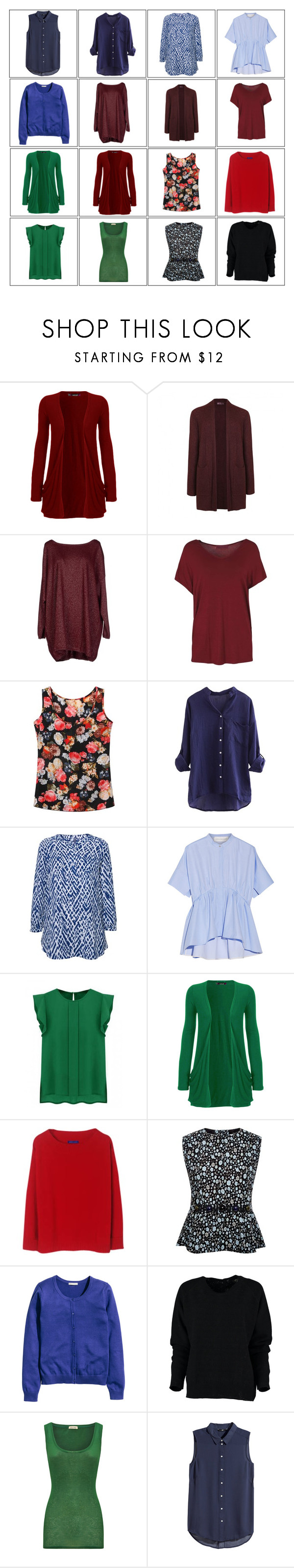 """""""4x4 basic 2"""" by kist-42 ❤ liked on Polyvore featuring WearAll, Ally Fashion, Blukey, NYDJ, Victoria, Victoria Beckham, Winser London, Marc Jacobs, American Vintage and H&M"""