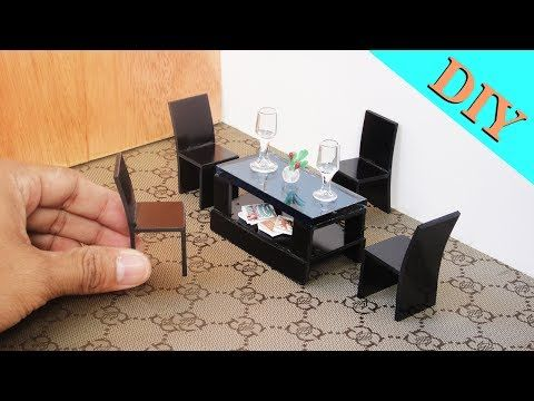 How To Make Miniature Realistic English Double seated Sofa -  Handmade Dollhouse - YouTube