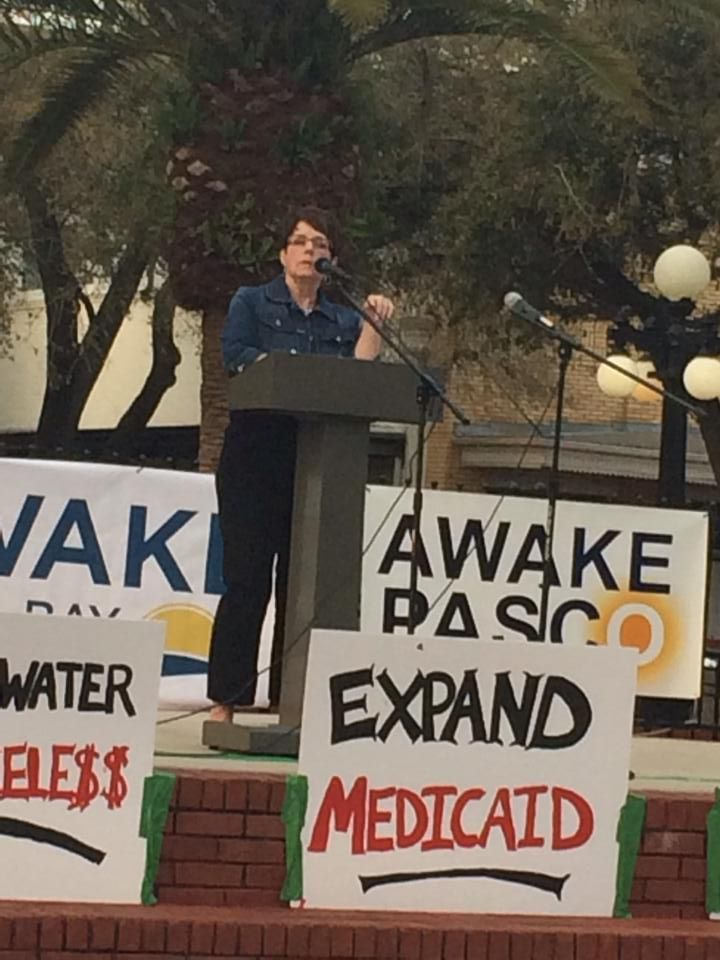 I was the keynote speaker for the Awake Tampa event in February 2014. Fire up, FL! Time to kick the current crop of crooks and liars to the curb.