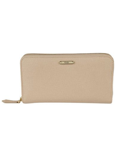 Wallets - Classic Zip Wallet Leather Cipria - beige - Wallets for ladies Prada x62bS