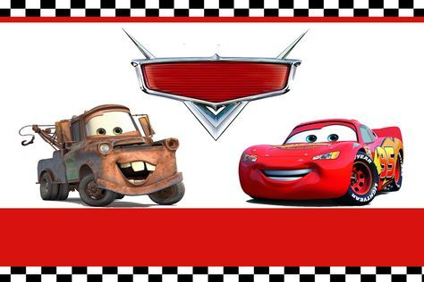 Free FREE Printable Lightning Mcqueen Birthday Invitations