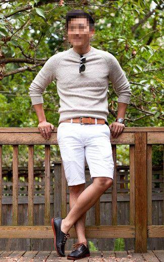 How to Wear White Shorts (71 looks)   Men's Fashion   White Shorts ...