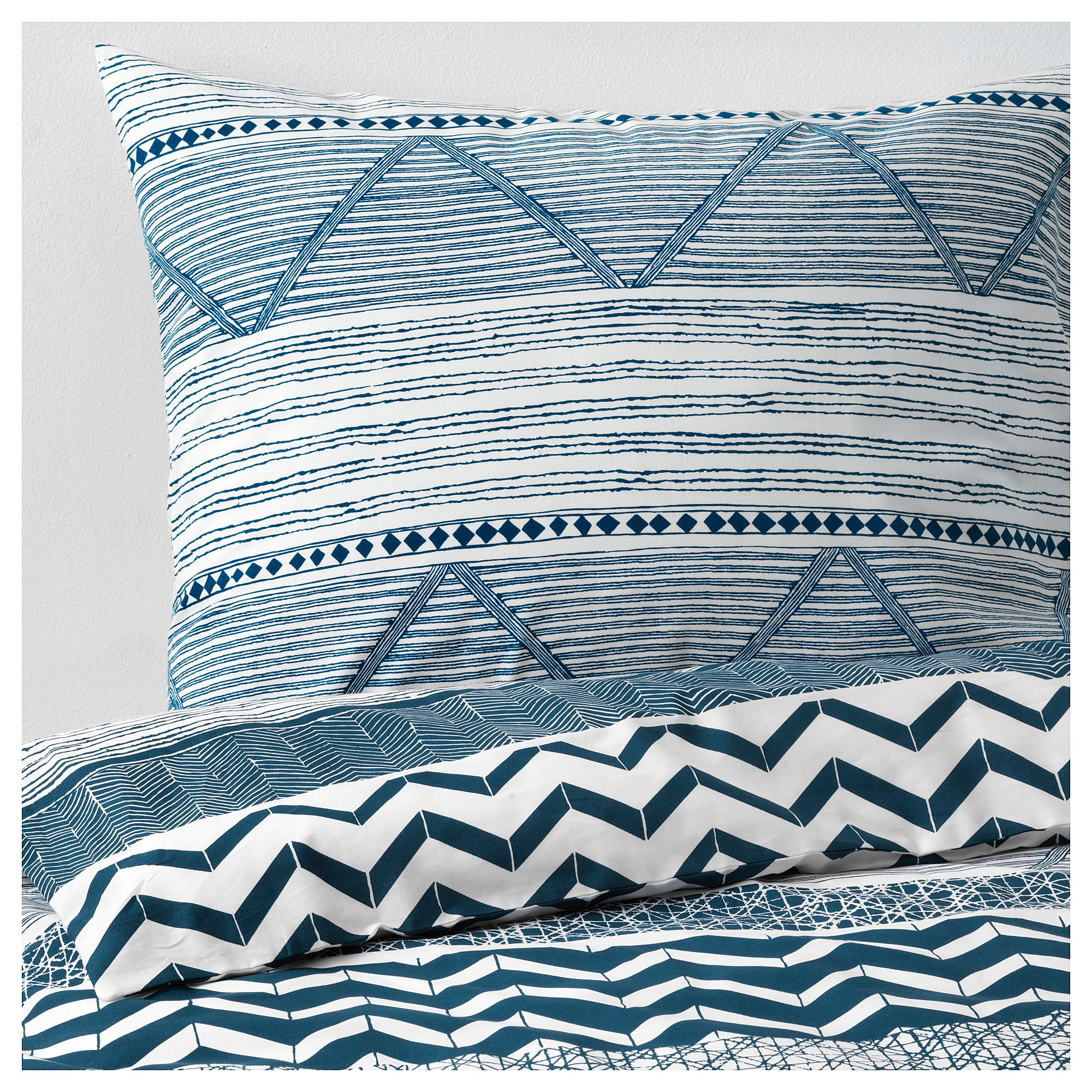 Provinsros Duvet Cover And Pillowcase S Full Queen Double Ikea