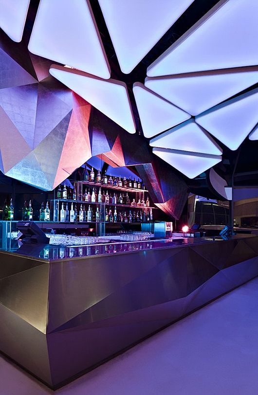 Allure Night Club By Orbit Design Studio Inspiration Grid