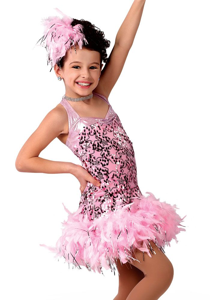 c5296bd20e9d 13898 - Goody Goody - Covered in feathers with this pink sequin star ...
