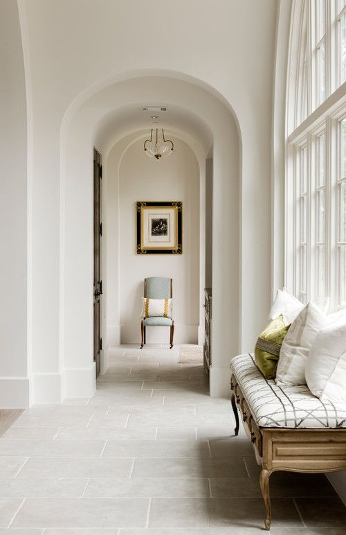 The Gifts Of Life interiors hallway arches white | Dream Home ...