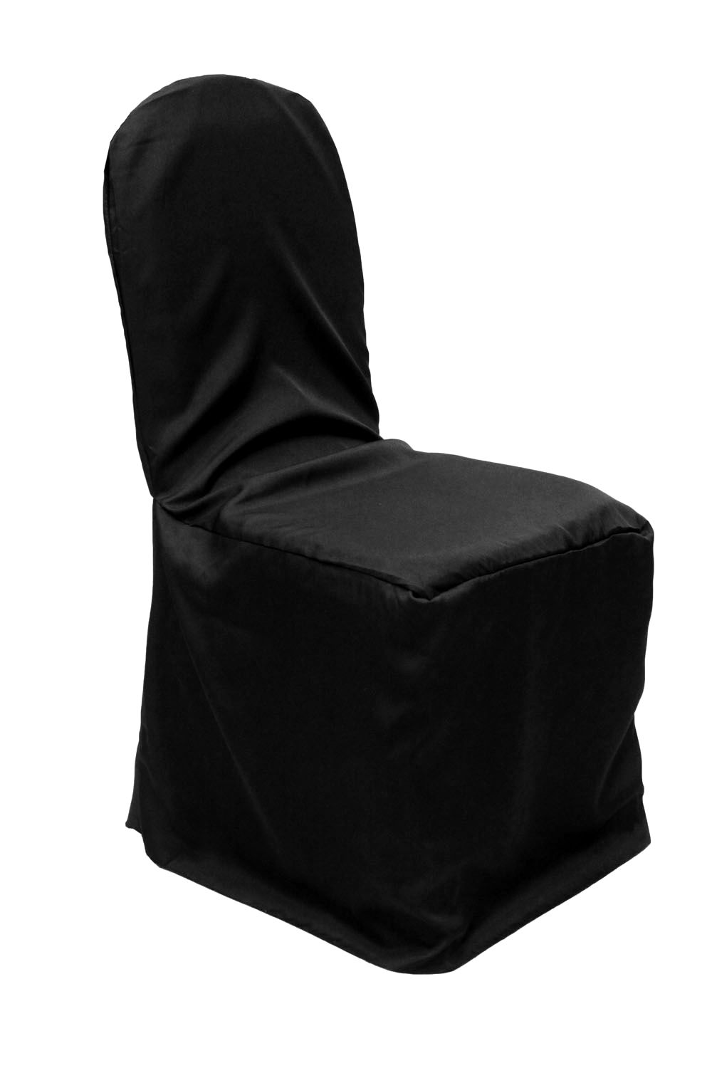 Awesome Economy Polyester Banquet Chair Cover Black 2019 Wedding Creativecarmelina Interior Chair Design Creativecarmelinacom