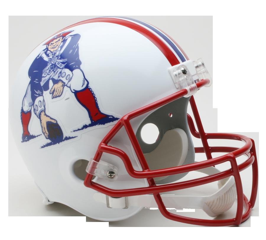New England Patriots Replica Full Size Throwback Helmet 1990 To 1992 Football Helmets Nfl Football Helmets Mini Football Helmet