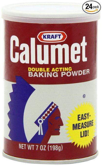 Calumet Baking Powder: Baking Soda, Cornstartch, Sodium