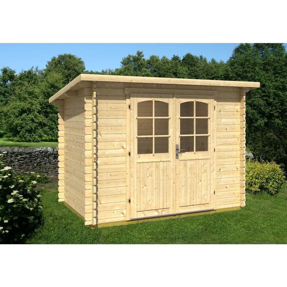 EZ Log Structures Gloria A 9 ft. 8 in. x 6 ft. 5 in