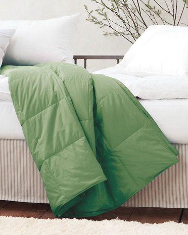 Garnet Hill Essential Down or Core-Loft™ Blankets