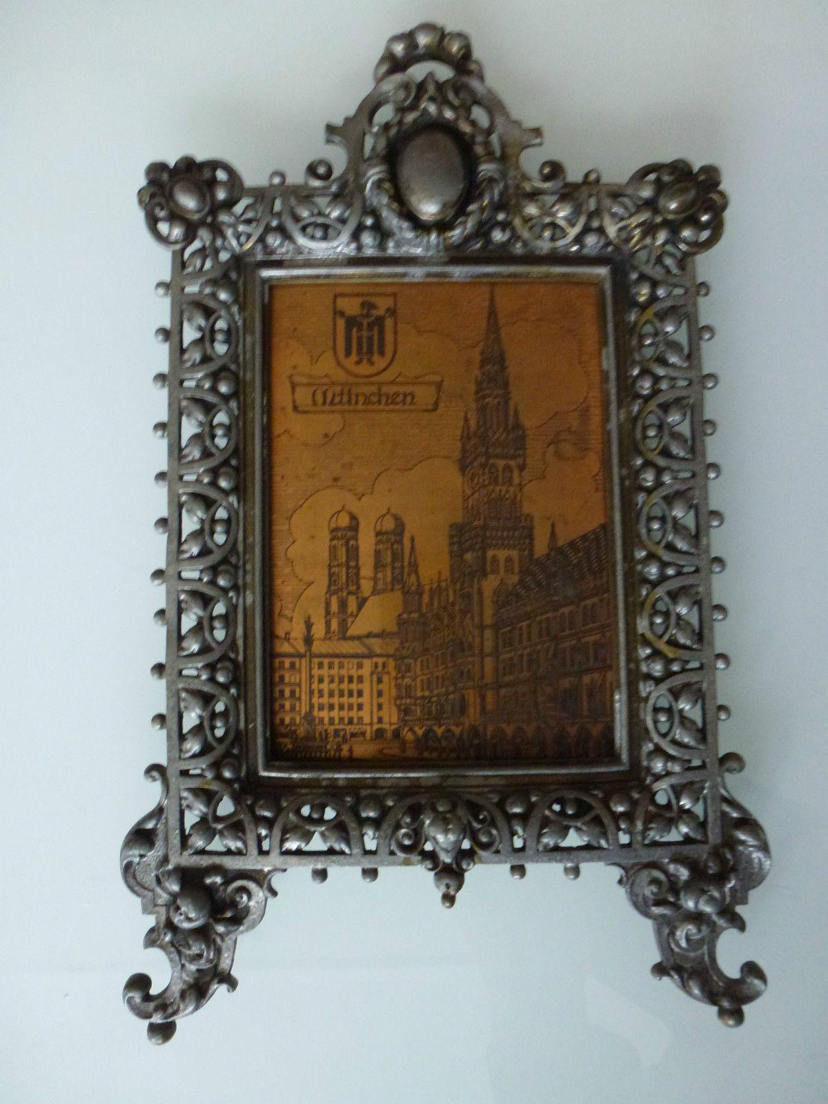 Gründerzeit Tischspiegel top verziert WMF um 1890   NEO RENAISSANCE ...