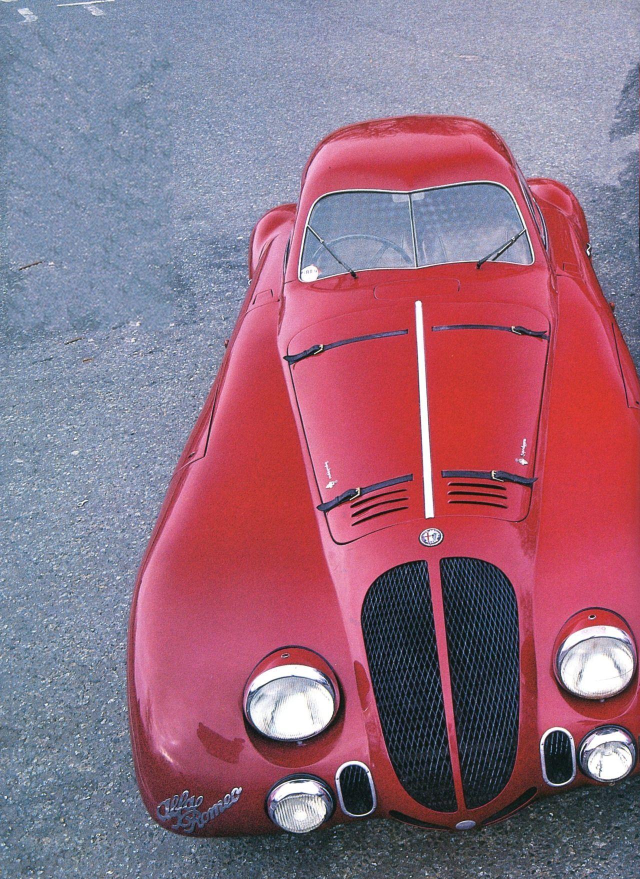 Alfa Romeo 2900 B coupé unique pour le Mans 1938 Automobiles