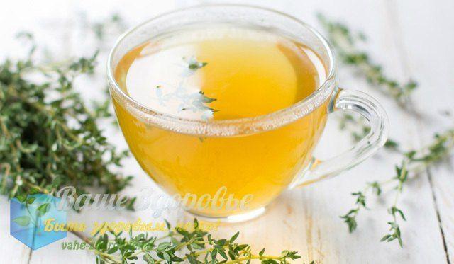 полезные чаи для здоровья из трав
