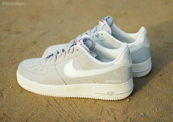 Nike Air Force 1 Veste Pour Femmes Gris