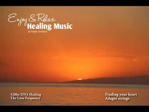 528hz DNA Healing Music ( Strings Finding your heart)