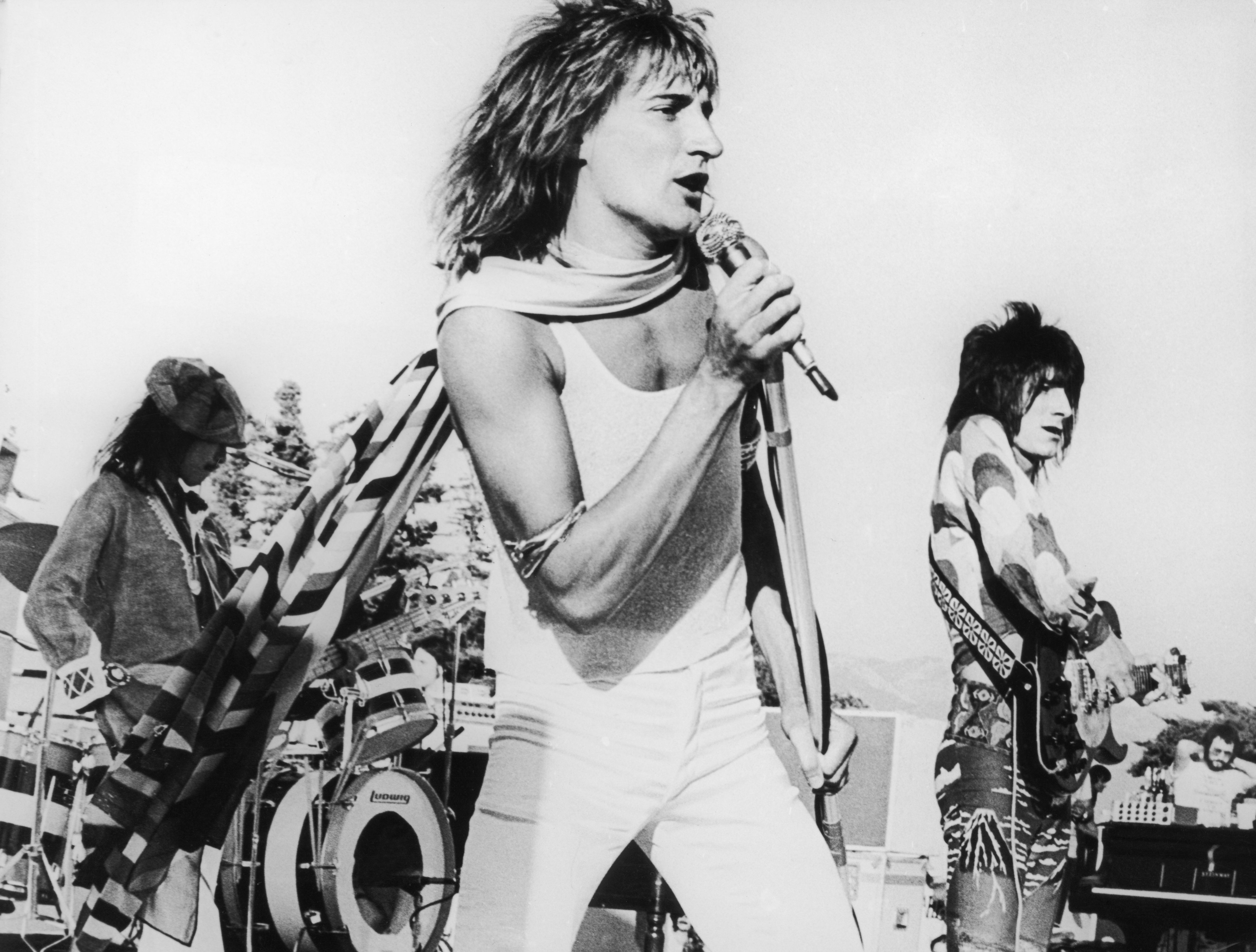 Pin by Steve Hadgisava on Long live rock Rod stewart
