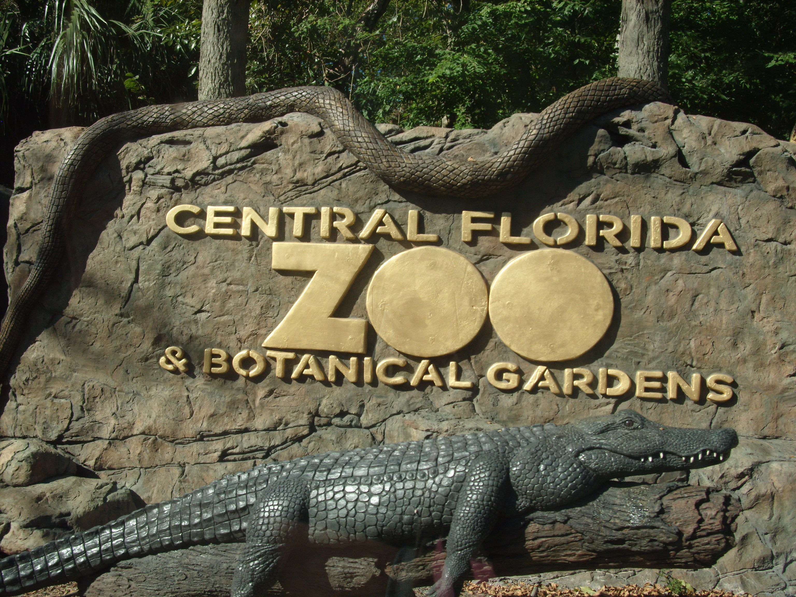 Zoo Sanford Orlando Zoo And Botanical Gardens Rides And Attractions Pinterest Florida