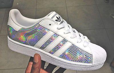 Superstar Adidas Holographic