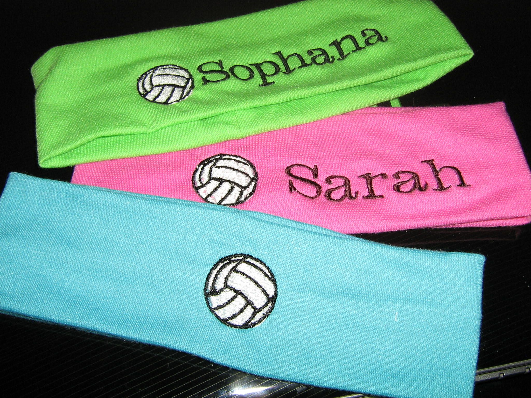 Second view of the personalized sports headbands that I offer ... 98d00f2cc3f