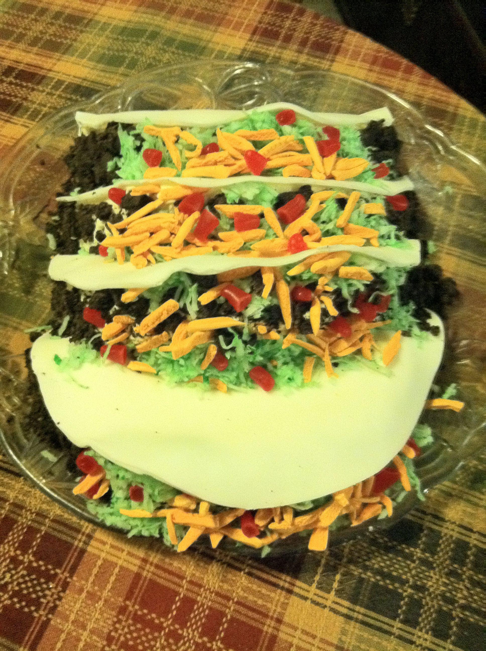 Taco Birthday Cake To Make Pinterest Cake Birthday Cake And