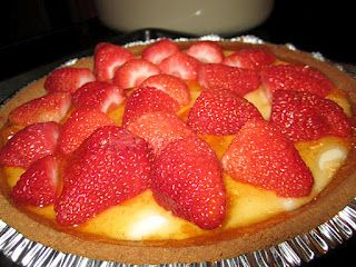 Guilt-Free Strawberry Cheesecake (From Who's Doing the Dishes)