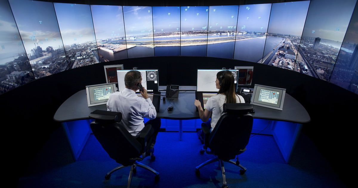 Busy london airport is doing away with its onsite control