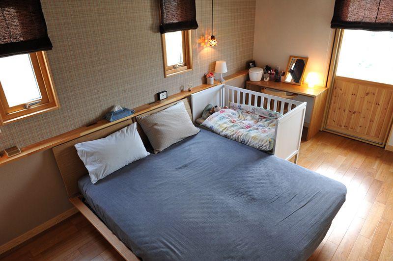 イケア Ikea のベビーベッドを購入 添い寝ベッド Sundvik 家は明かりから スウェーデンハウスで北欧生活 添い寝ベッド 赤ちゃん 部屋 レイアウト ベビーベッド