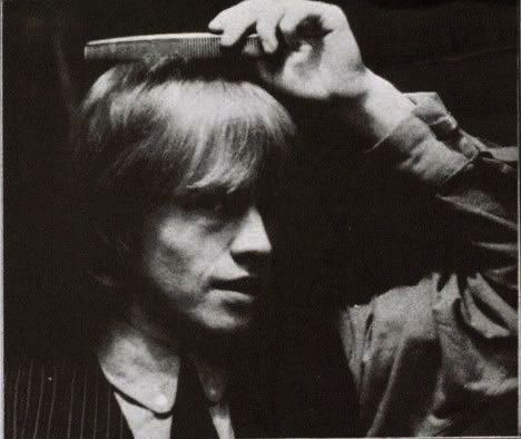 Brian Jones caught in mid comb! Ha!