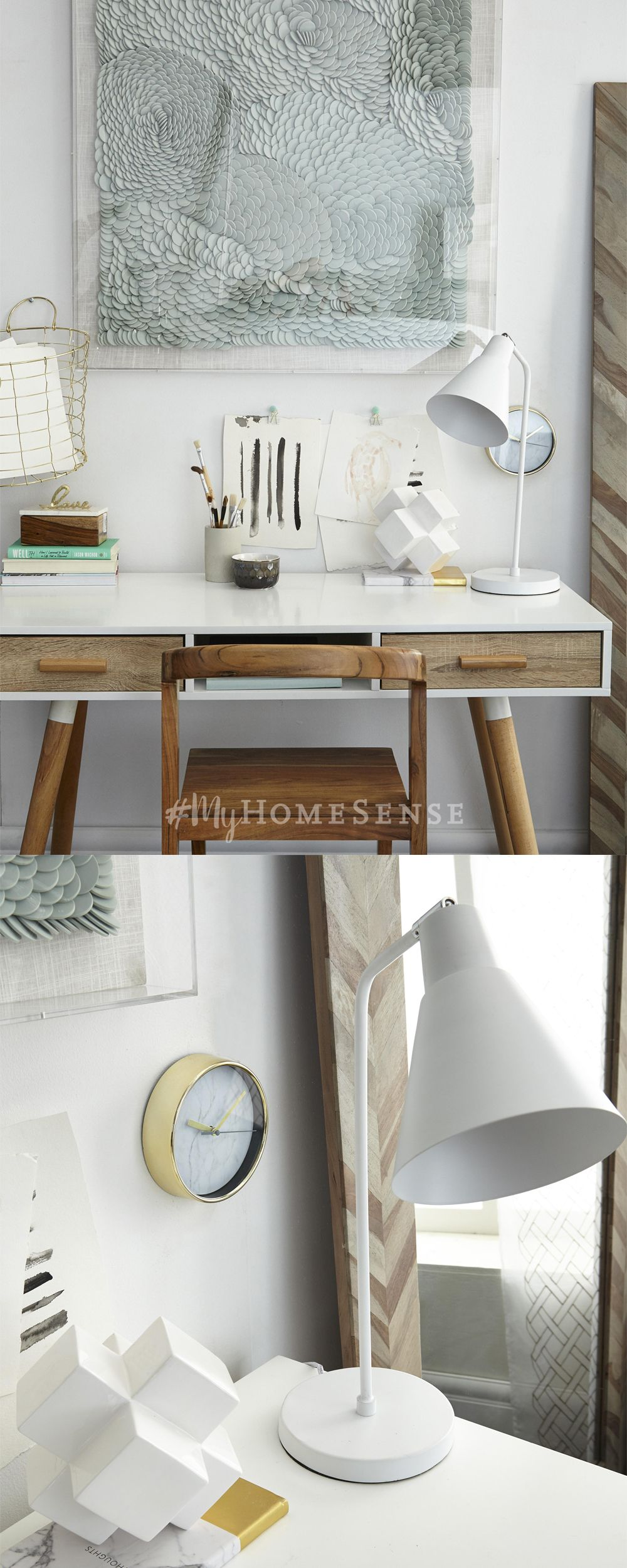 Store locator homesense desk space and clipboards get your office in order with this easy hack use myhomesense pieces like hanging geotapseo Choice Image