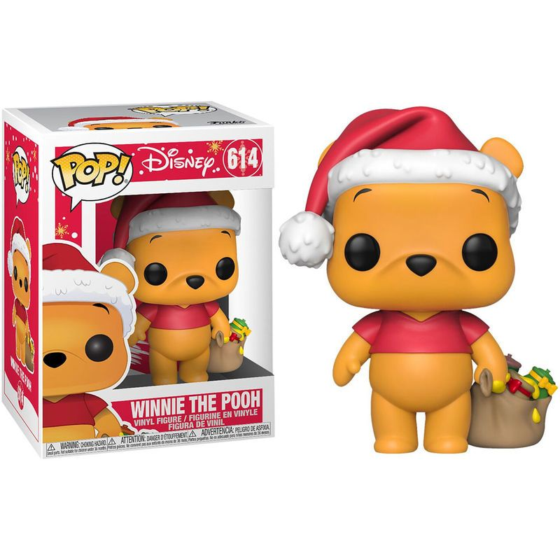Holiday-Winnie l/'ourson Vinyl Figure Disney Funko Pop