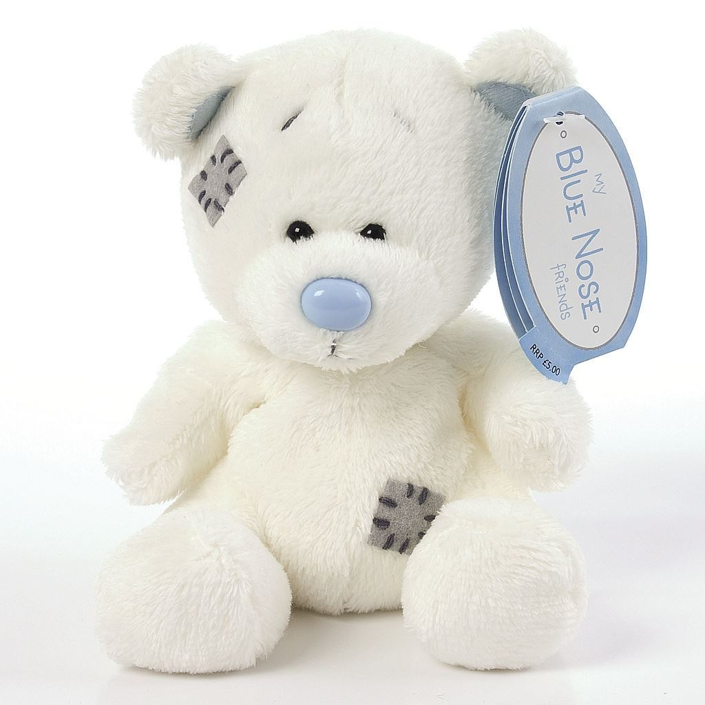 7 49 Gbp 4 My Blue Nose Friends Chalky The Polar Bear No 15 Plush Soft Toy Ebay Collectibles Blue Nose Friends Bear Tatty Teddy