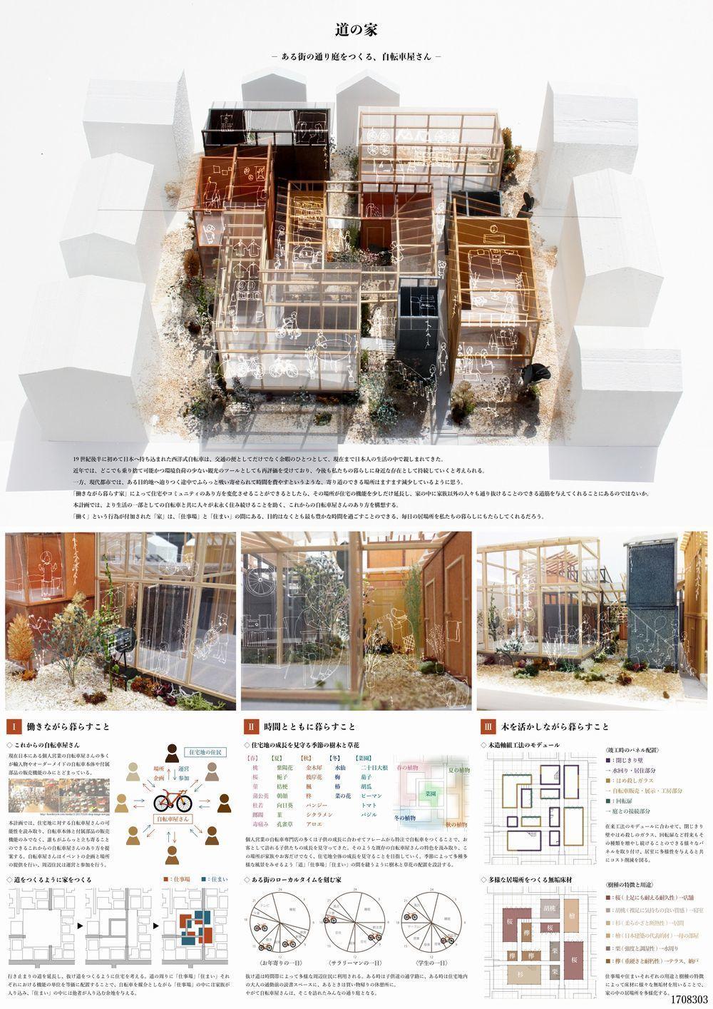 受賞作品 木の家設計グランプリ 建築レイアウト 建築設計図 設計