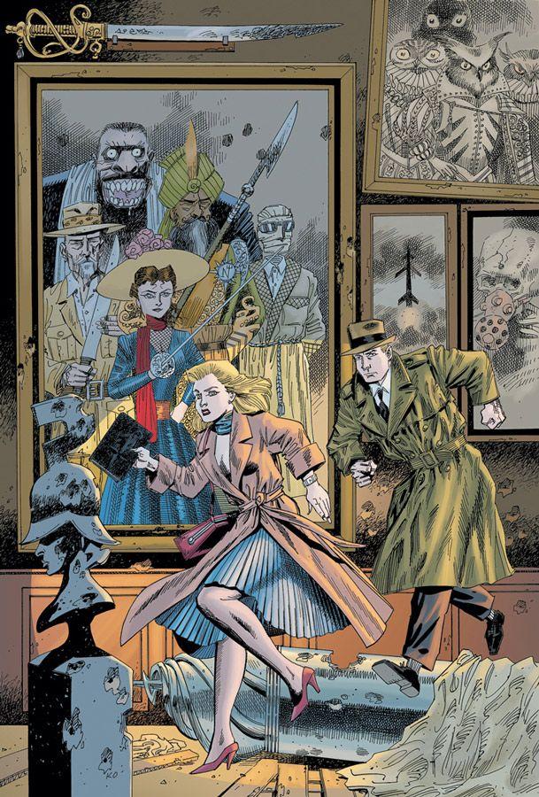 I Can't Stop Thinking About Comics!   League of extraordinary gentlemen. Comic books art. Comic art