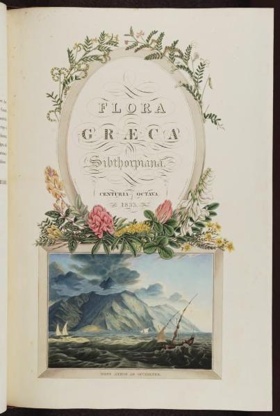 Flora Graeca Ferdinand Bauer