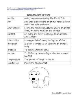 46++ Polar bear worksheets Live