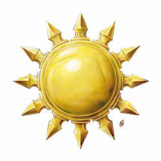 holy symbol of pelor god of the sun world of corr225zan