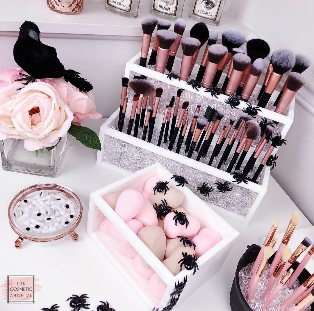 Custom Makeup Vanity Chair unless Makeup Forever Loose