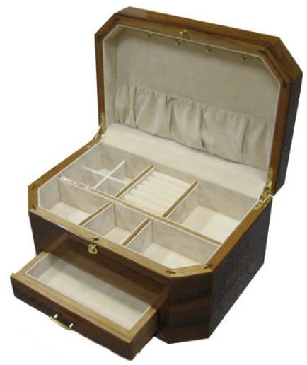 Tizo Wooden Jewelry BoxDiscover Additional Jewelry Boxes for Women