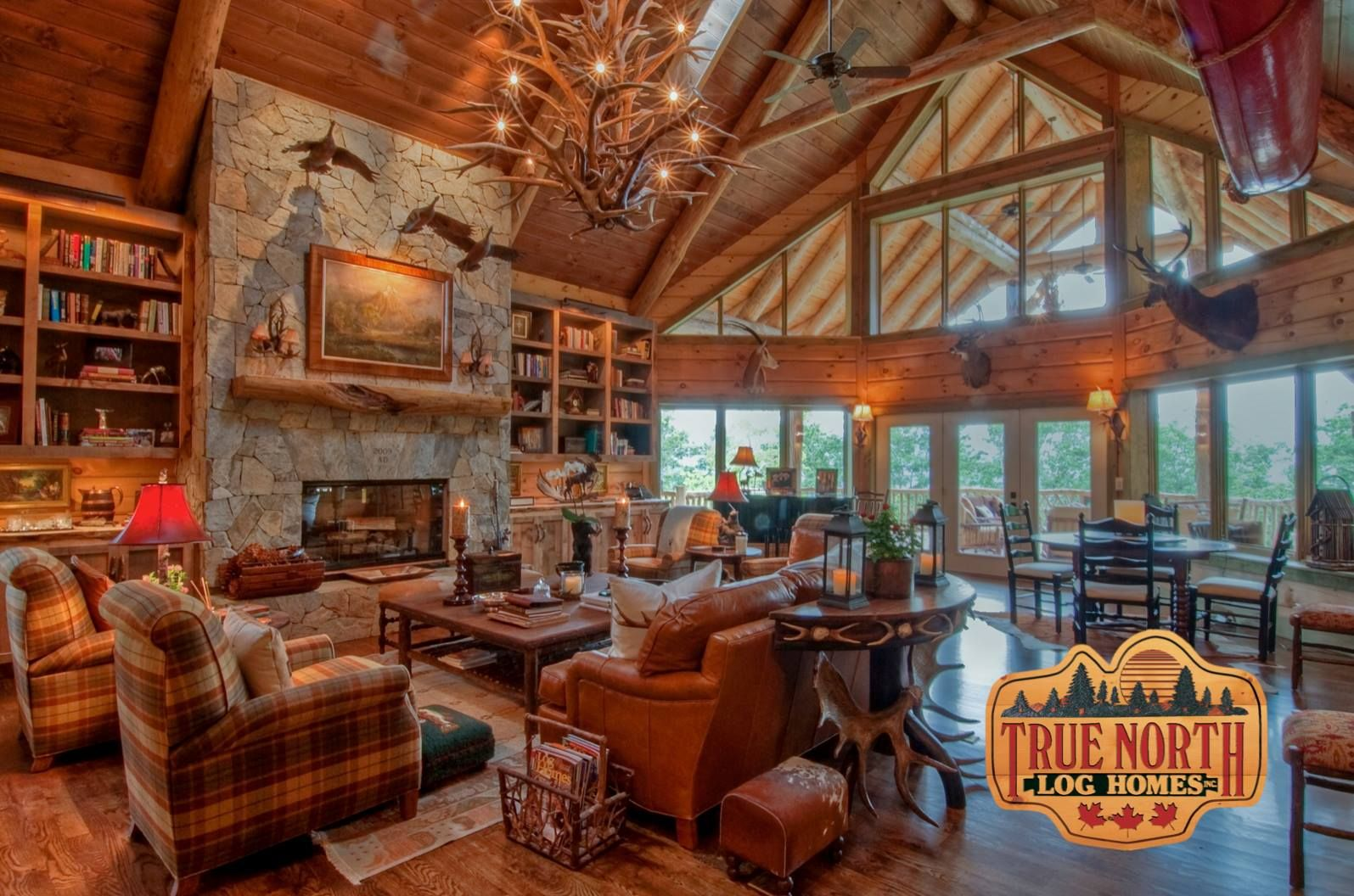 Delicieux Log Homes Interior Designs 1000 Images About Log Cabin Home Interior Design  Ideas On Exterior