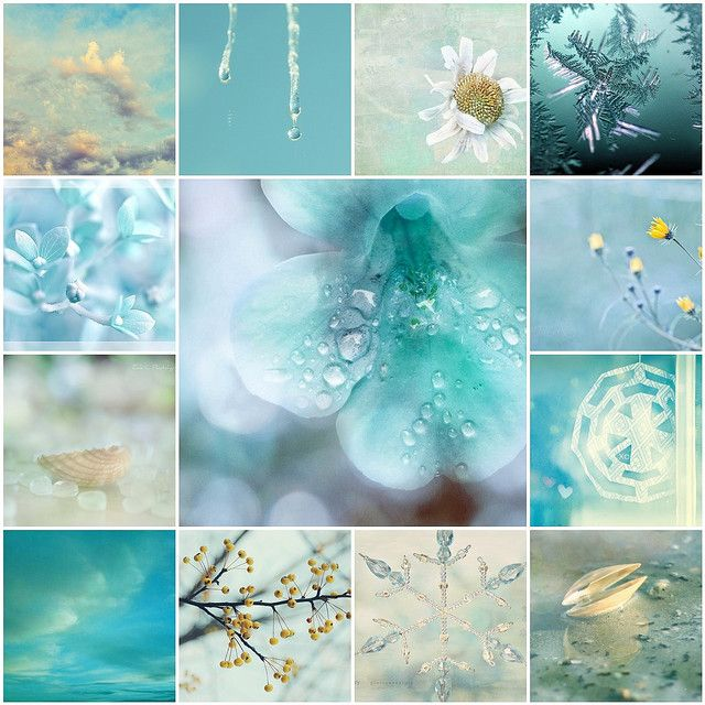 Mosaic Monday - Teal Delights